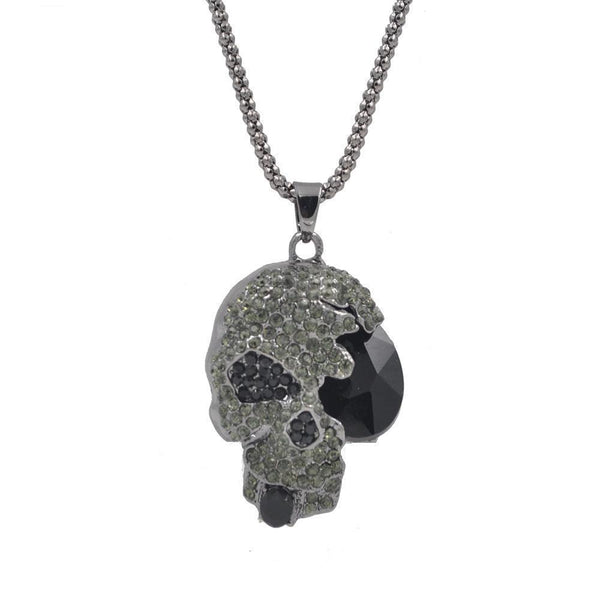 Vintage Skull Skeleton Necklace - designfullprint