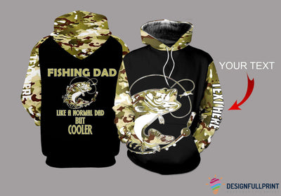 Fishing Dad Personalized US Unisex Size Hoodie 5 Fish Type