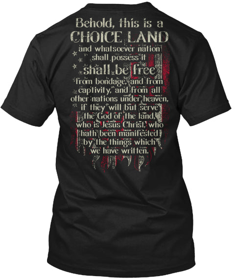 Behold This Is A Choice Land Ultra Cotton Shirt