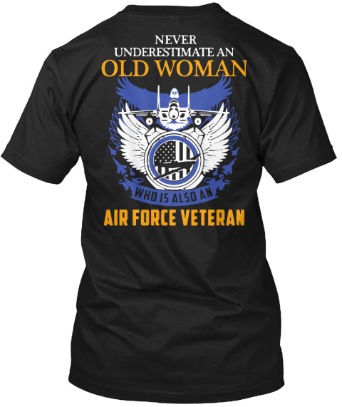 Air Force Veteran Shirt Ultra Cotton Shirt