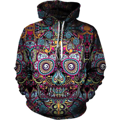 Mosciicon™ - 3D Skull Hoodie