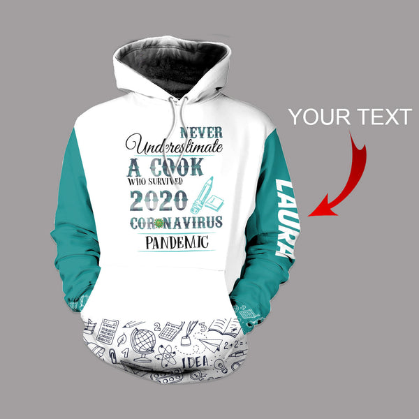 New Personalized  A Cook US Unisex Size Hoodie