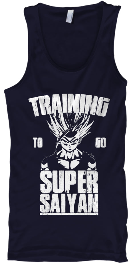 Training To Go Super Saiyan Ultra Cotton Shirt