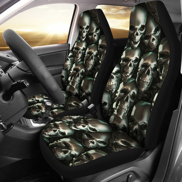 3D Skull Car Seat Covers