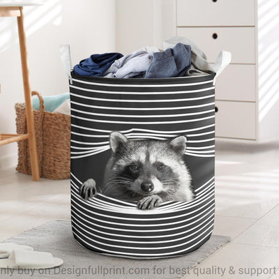 Raccoon Laundry Basket