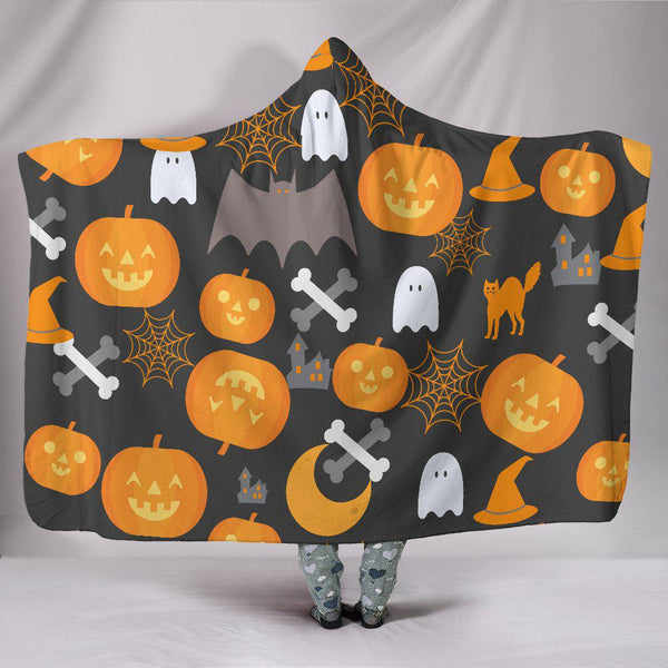 Trick or Treat HOODED BLANKET - Halloween