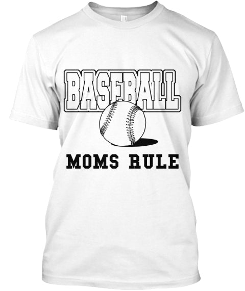 Baseball Shirts For Moms Ultra Cotton Shirt