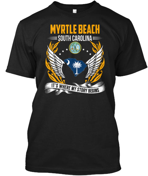 Myrtle Beach T Shirts Ultra Cotton Shirt