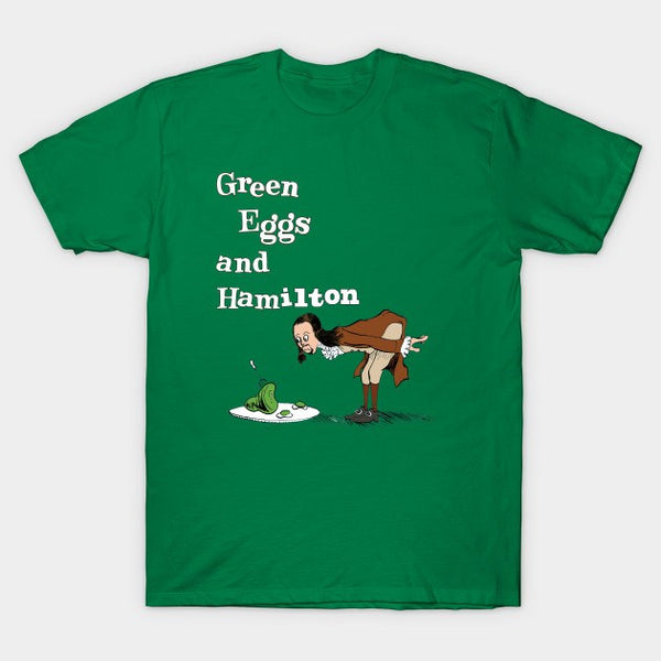 Green Eggs and Hamilton Ultra Cotton Shirt