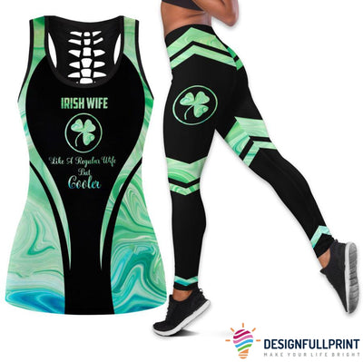 Irish Wife Tank Top And Legging Set