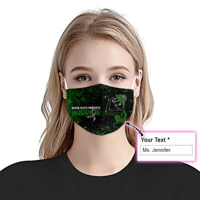 Mental Health Awareness Bling Bling Mask 3-pack