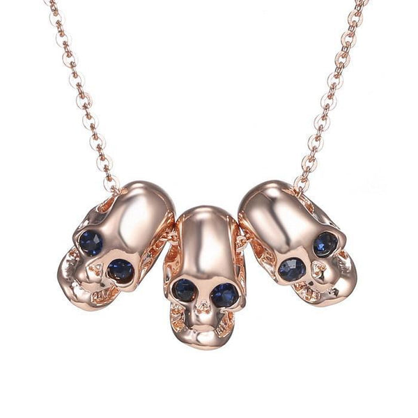 Crystal Skull Necklaces