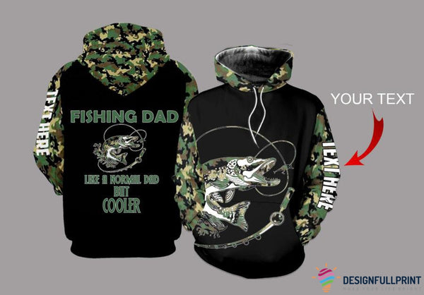 Fishing Dad Northern-Pike Personalized Unisex Hoodie