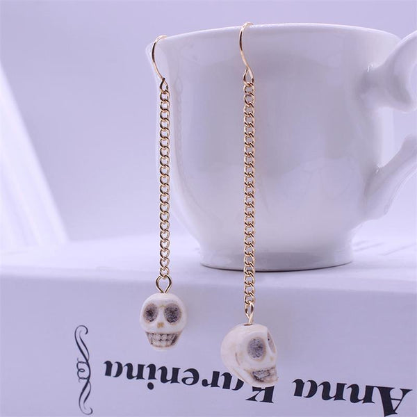 Unique Color Skull Earrings