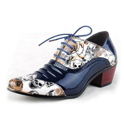 Skull Men Formal Shoes