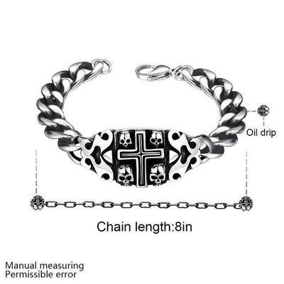 Skull Faith Men Bracelet