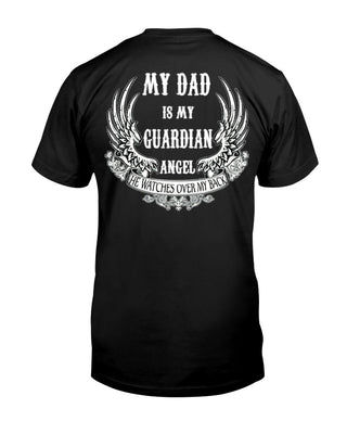 My Dad Is My Guardian Angel Back Ultra Cotton Shirt