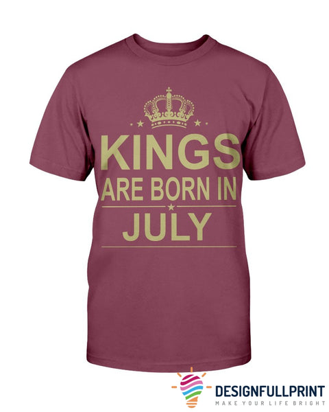 Copy of Kings Are Born In July Ultra Cotton Shirt