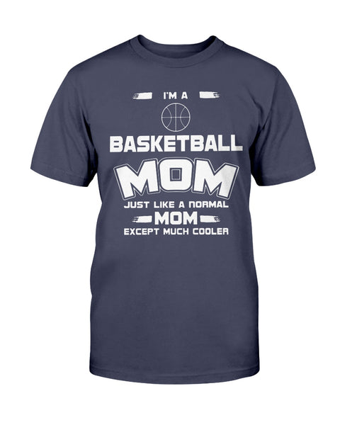 Basketball Mom T Shirts Ultra Cotton Shirt
