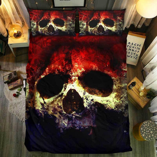 Special Skull Bedding Set Tainted Skull