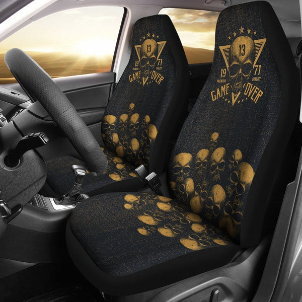 Game Over Car Seat Covers