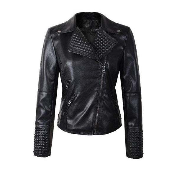 Sheeny Leather Jacket