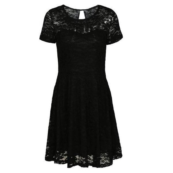 Gothic Floral Dress