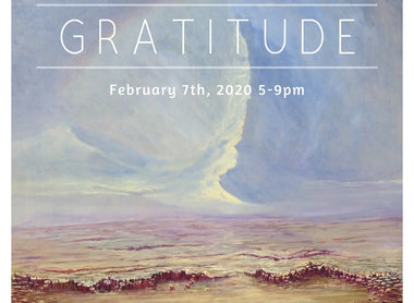 2nd Annual Gratitude Exhibit at Kreuser Gallery