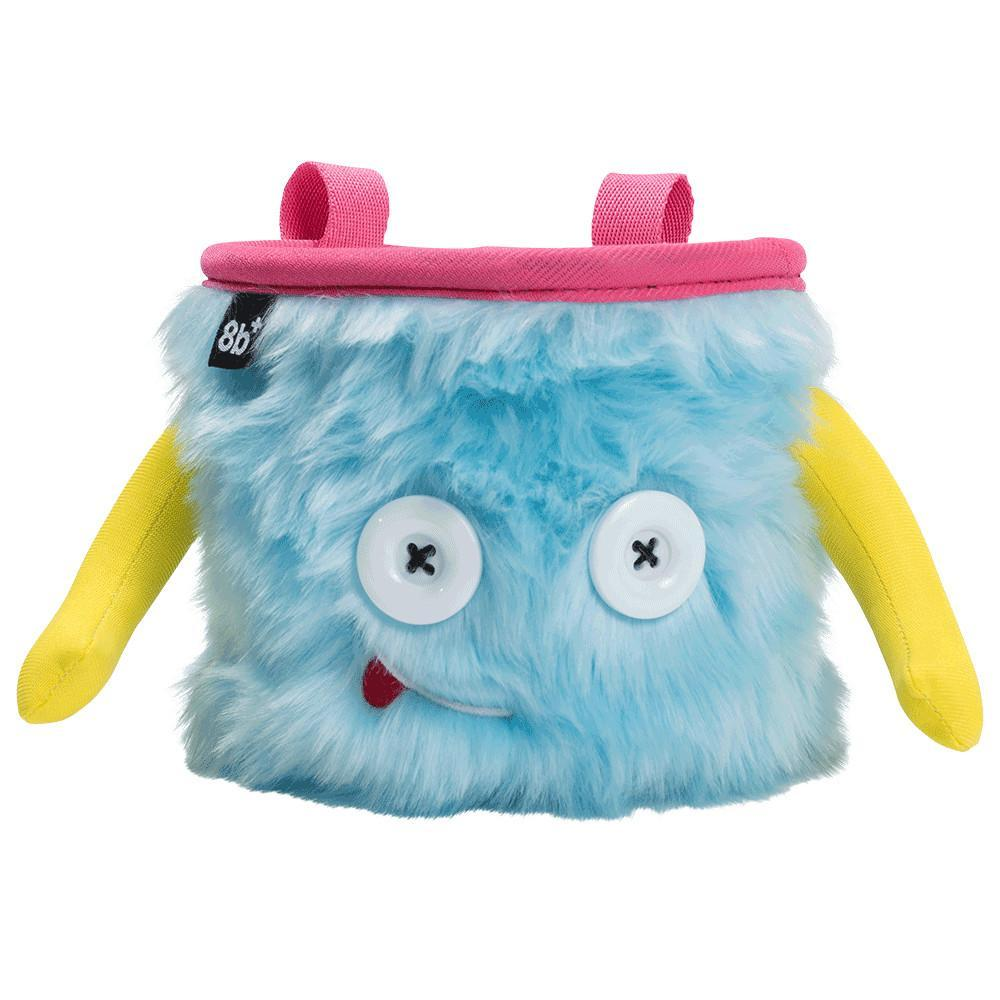 8BPlus Jamie Chalk Bag, front view showing monster face