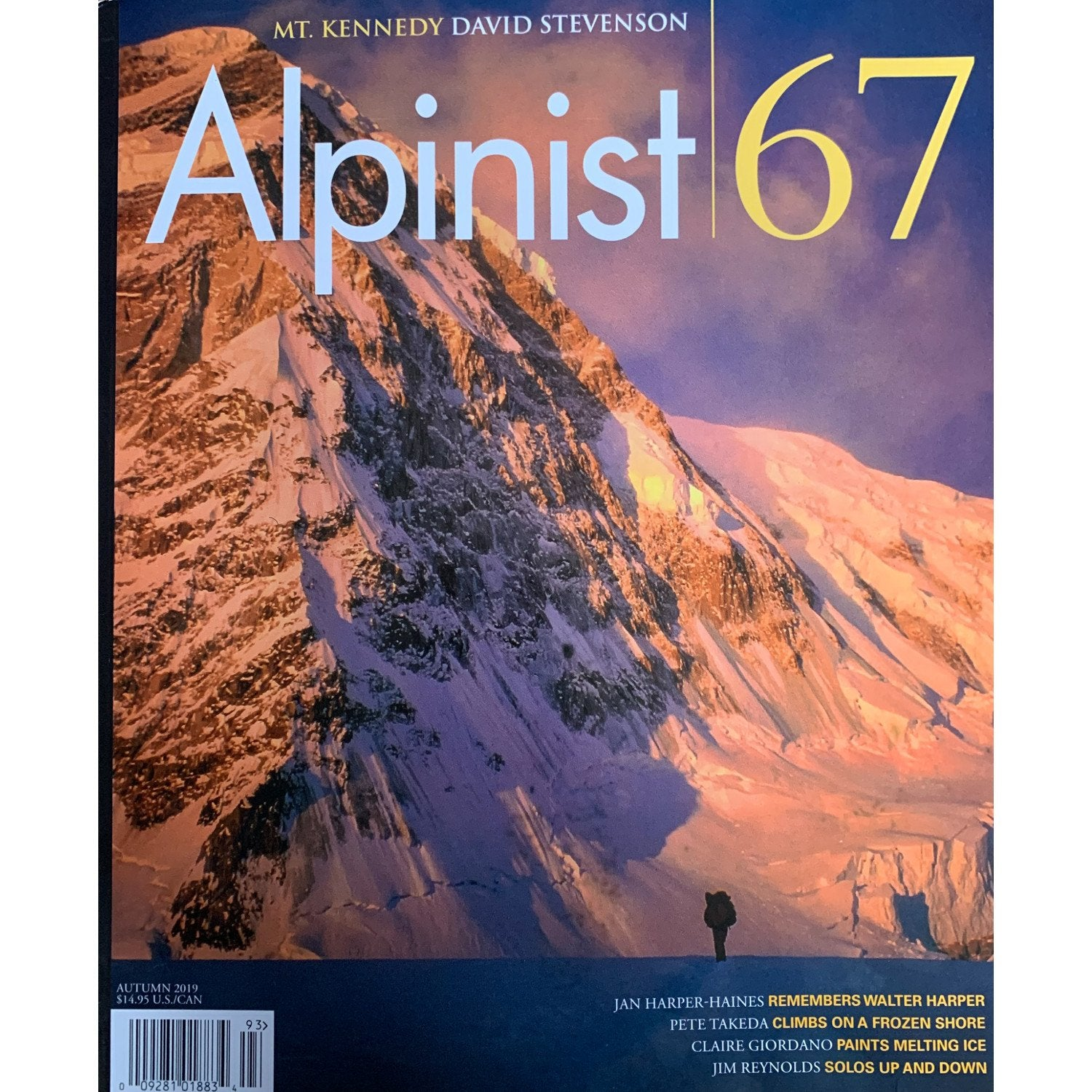 Alpinist 67 Magazine Front Cover
