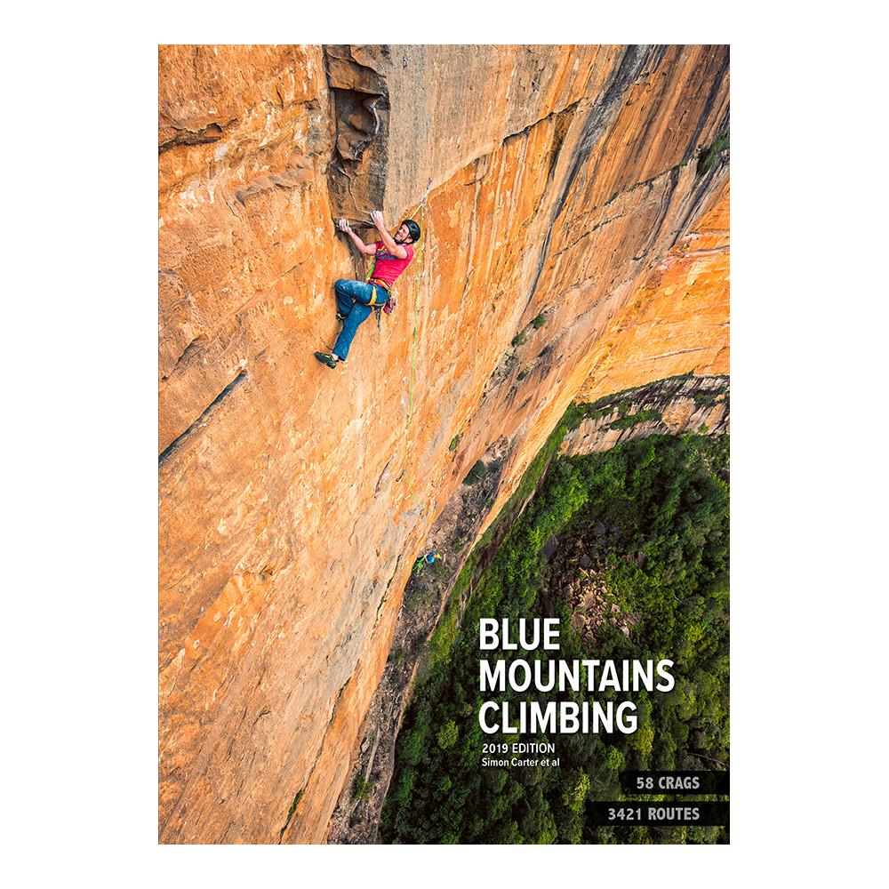 Blue Mountains Climbing 2019 edition climbing guidebook, front cover