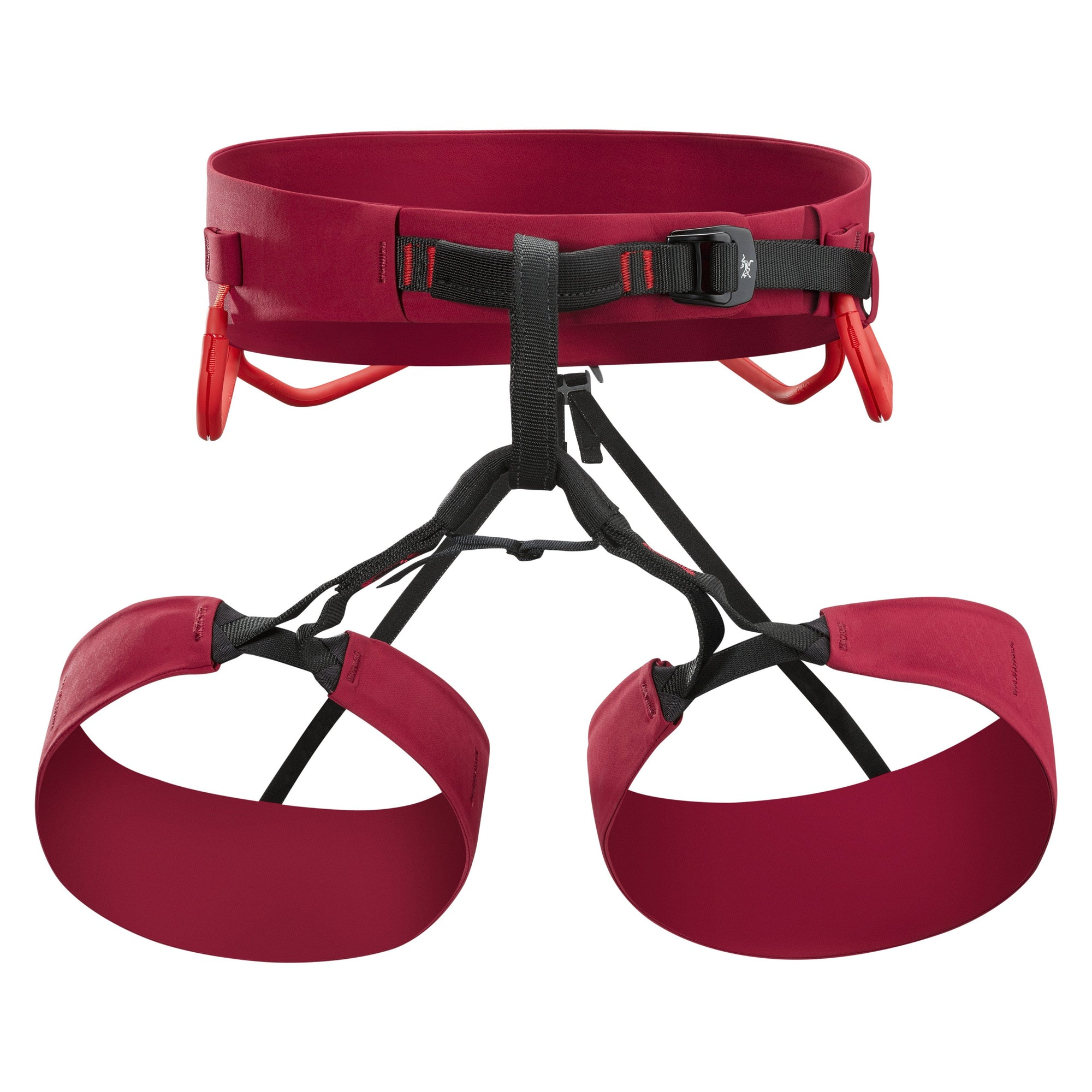 ArcTeryx FL-365 climbing Harness in Red colour