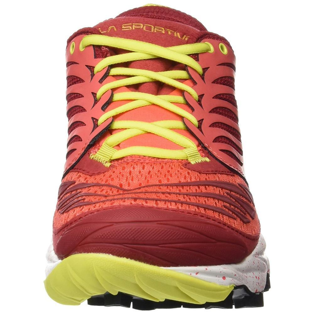 La Sportiva Akasha Womens in Berry front view