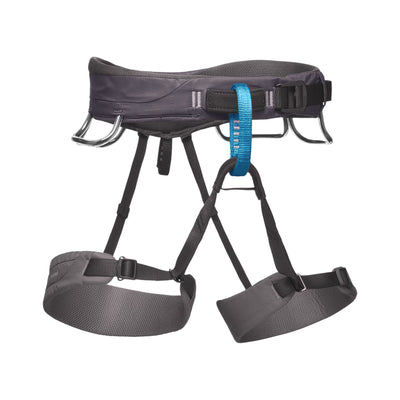 Black Diamond Momentum Harness in grey and blue colours