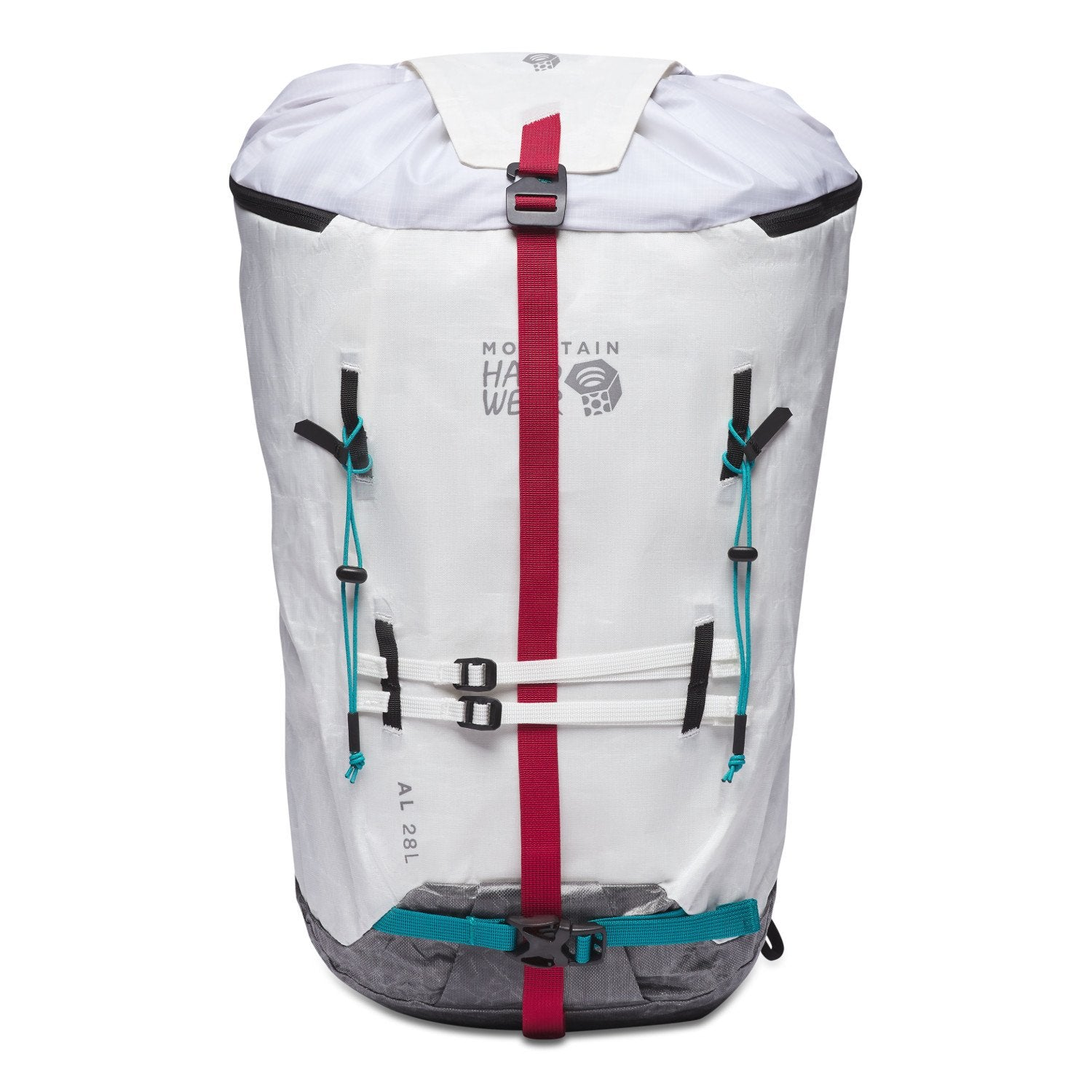 Mountain Hardwear Alpine Light 28L strapped up front
