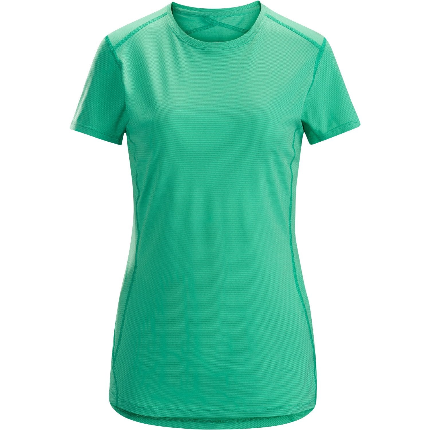 ArcTeryx Phase SL Crew SS Women's in Emerald Green