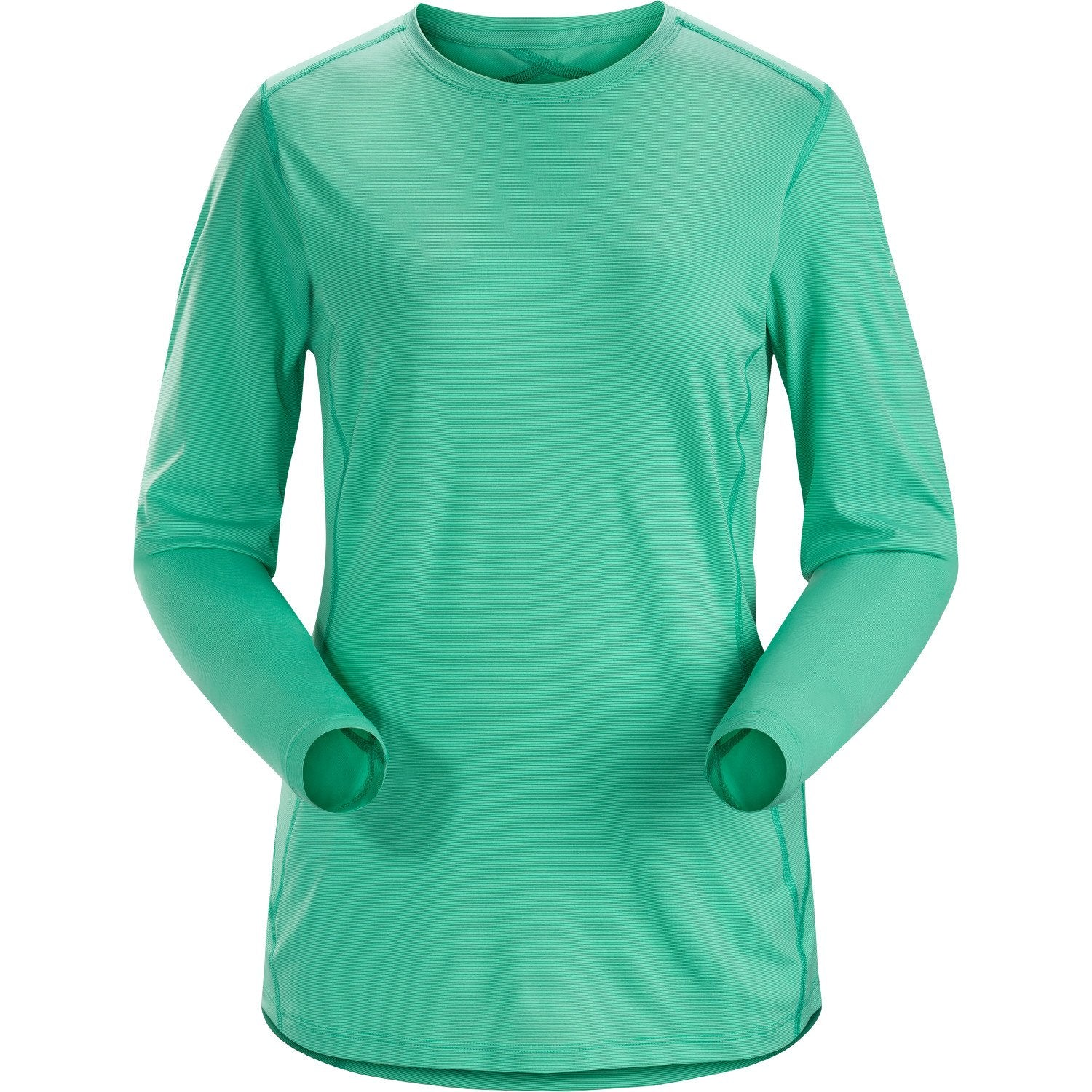 ArcTeryx Phase SL Crew LS Women's in Mint green
