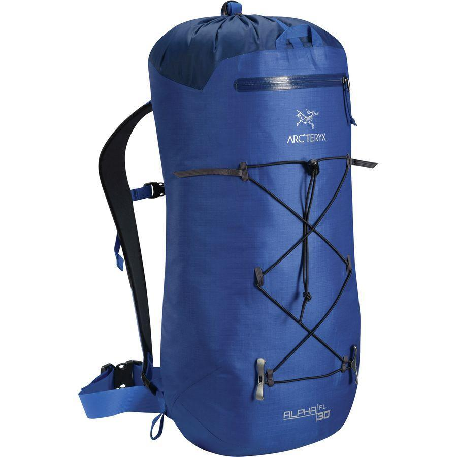 ArcTeryx Alpha FL 30 rucksack, in blue colour