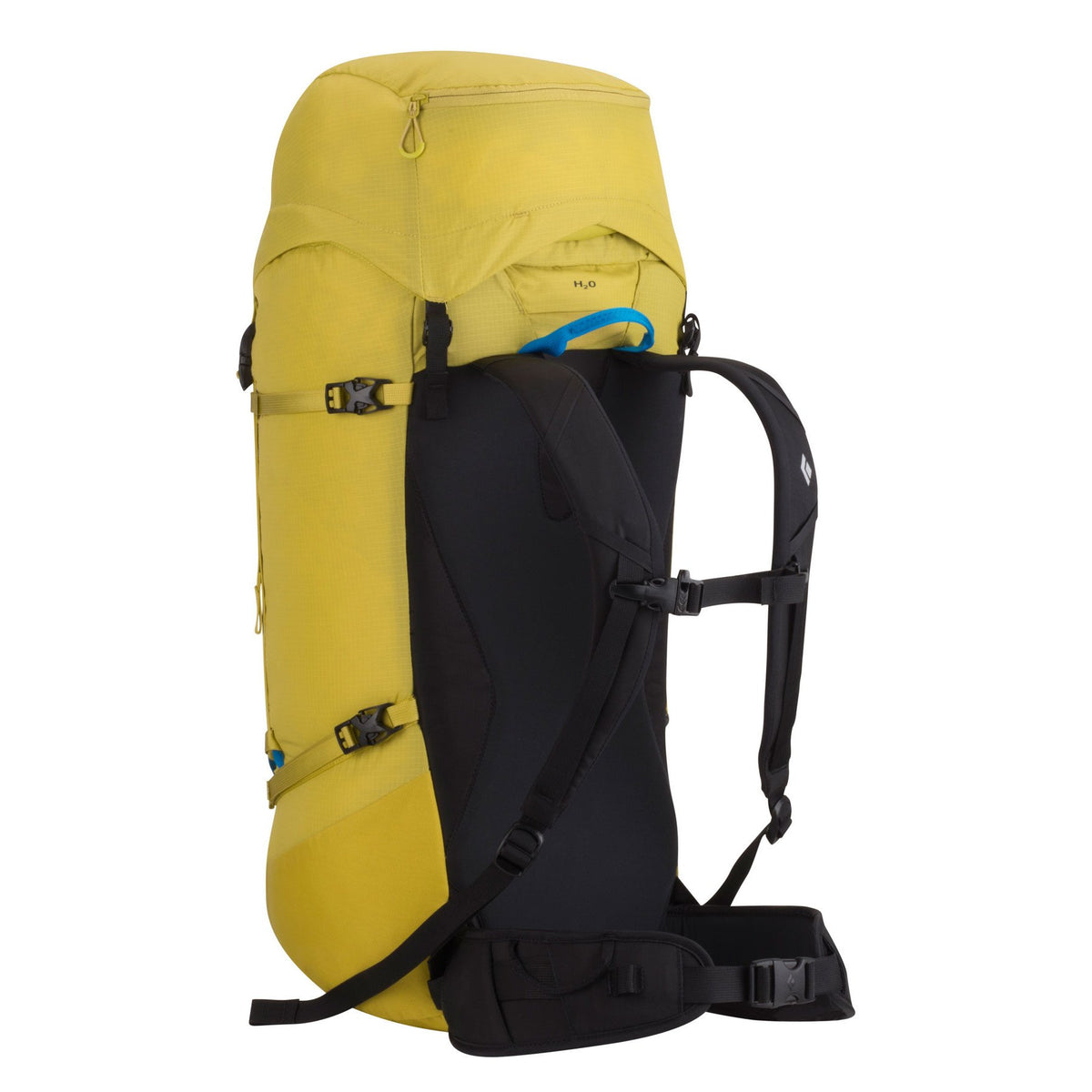 Rear of Black Diamond Speed 40 backpack showing straps