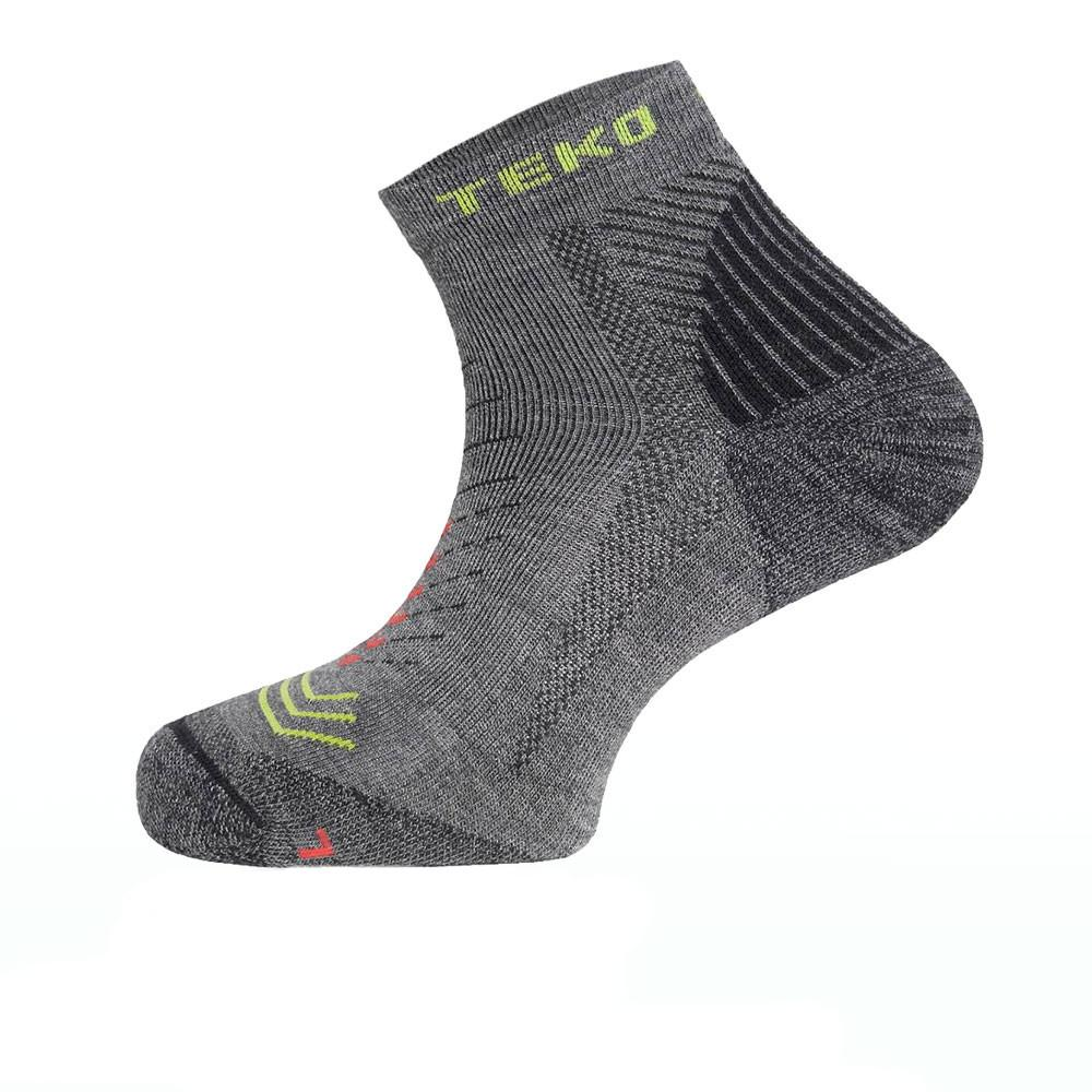 Teko Merino Sin3rgi Enduro Light Cushion Socks in Grey