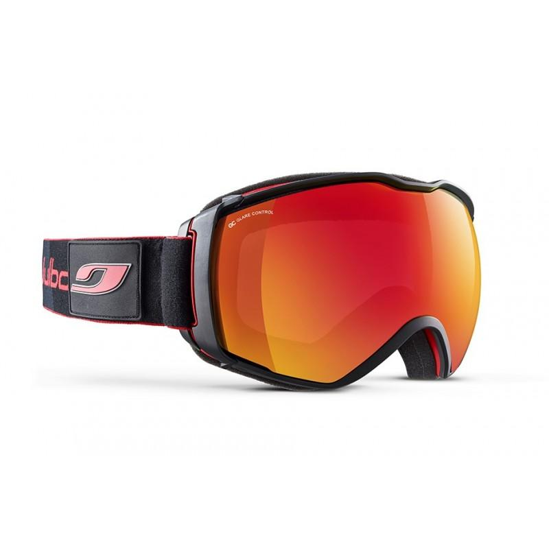 Julbo Airflux Cat 3 Goggles Glare Control, in orange/red and black colours