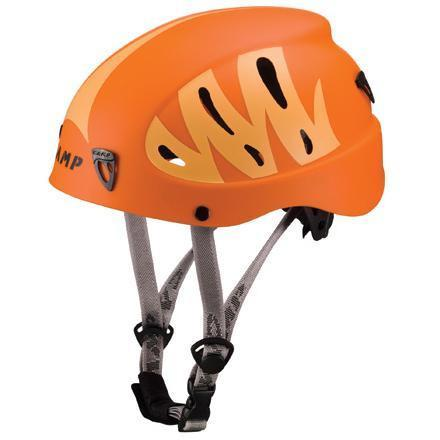 Camp Armour climbing helmet, in orange colours