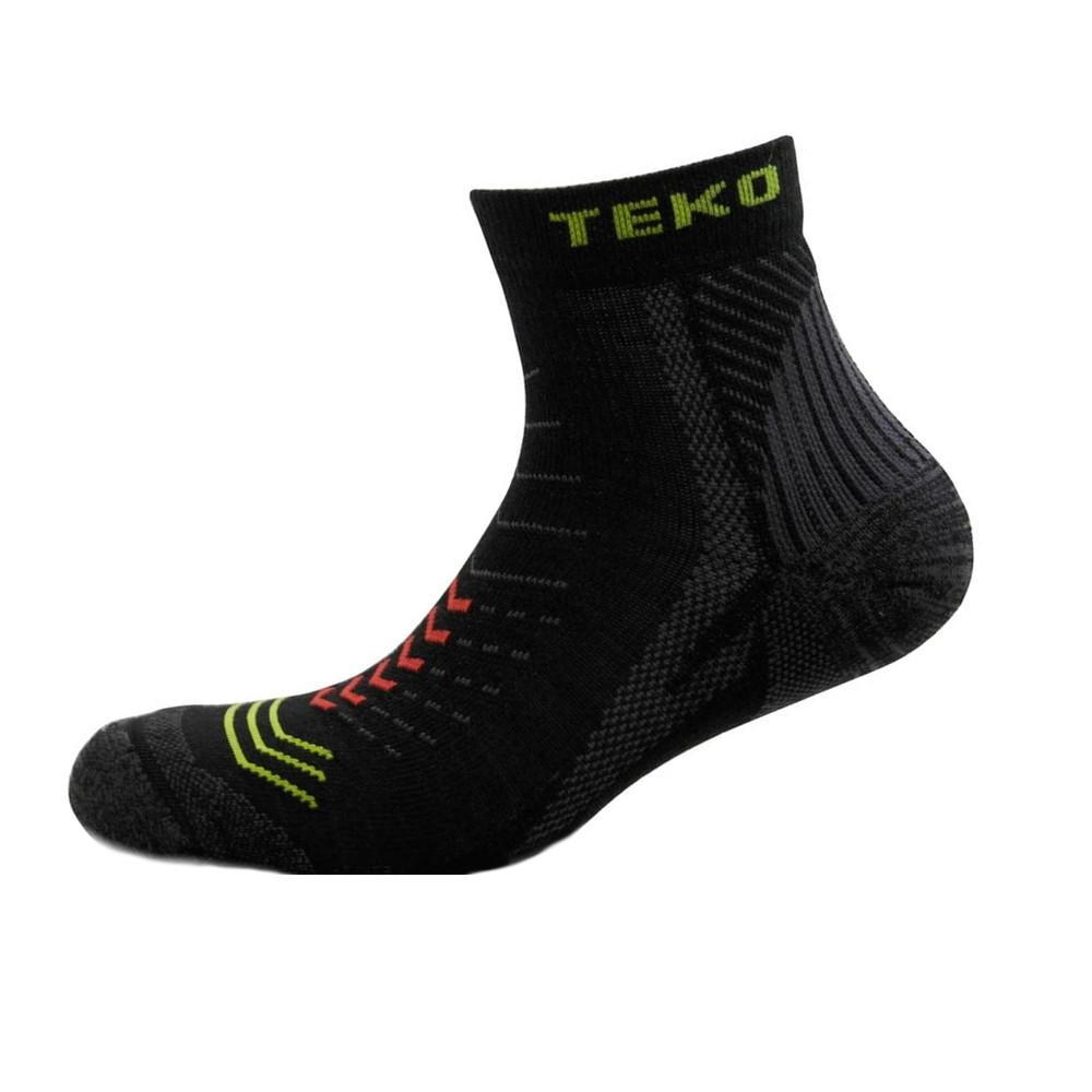 Merino Sin3rgi Enduro Light Cushion Socks in Black
