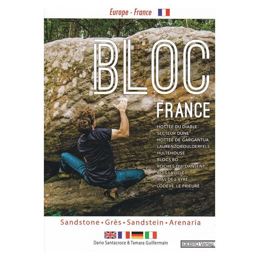 Bloc France bouldering guidebook, front cover
