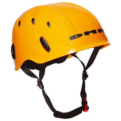DMM Ascent climbing helmet in orange colour
