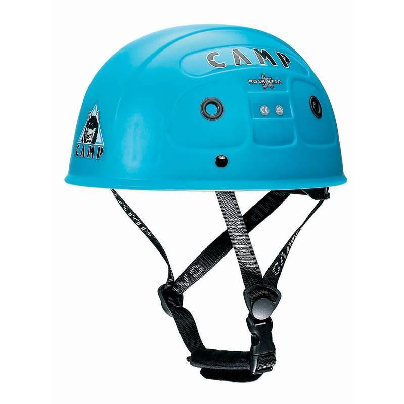 Camp Rockstar climbing helmet, in blue colour