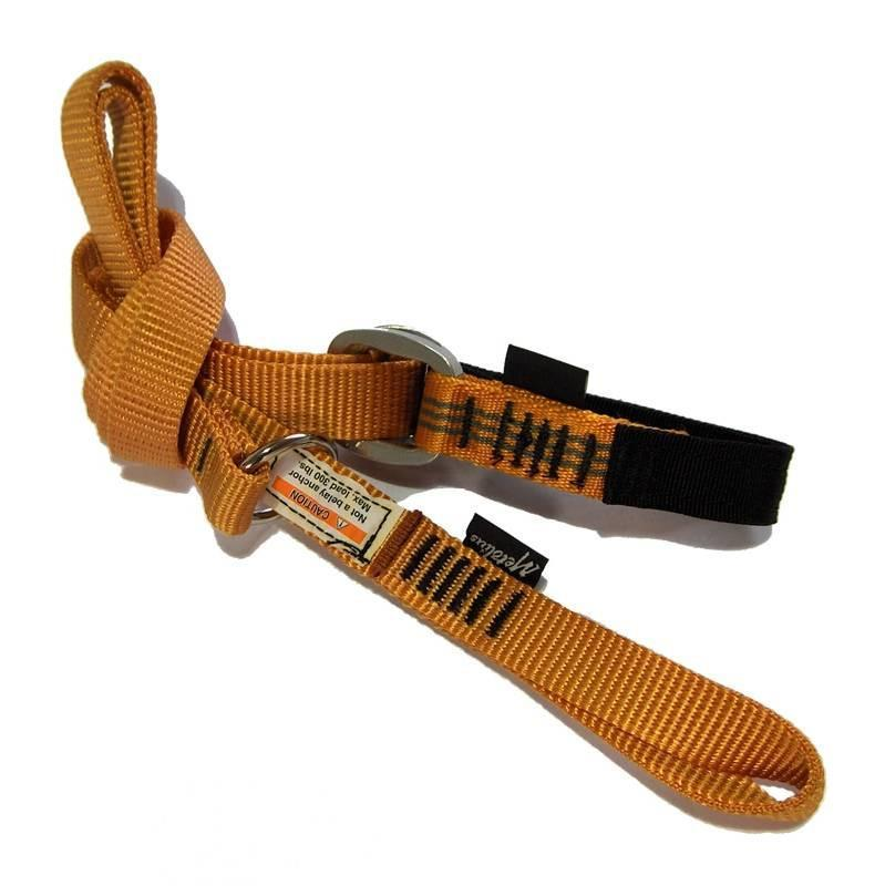 Metolius Easy Daisy climbing daisy chain, in orange colour
