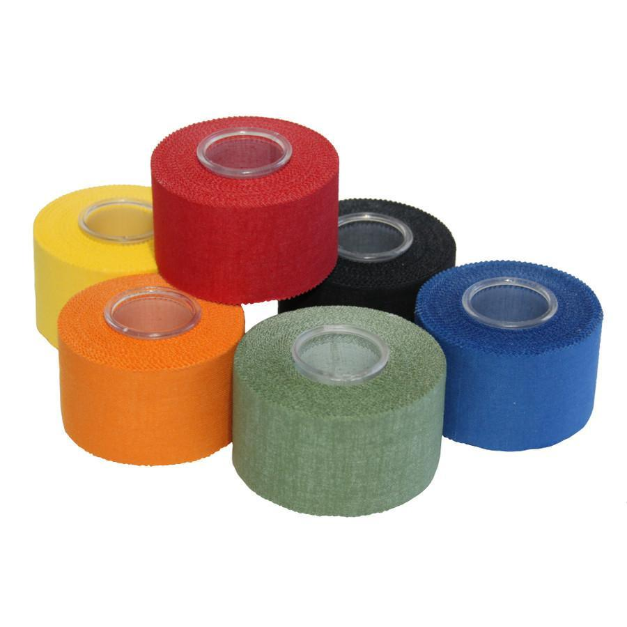i'bbz Finger climbing Tape shown in 6 different colours in a pile