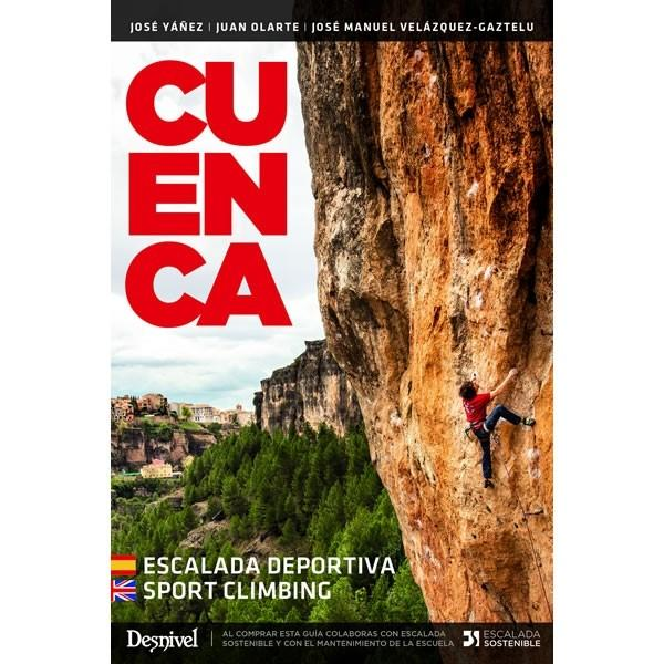 Cuenca 3rd Edition climbing guidebook, front cover