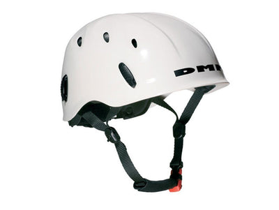 DMM Ascent climbing helmet, in white colour